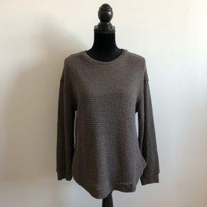 Mustard Seed Taupe Lightweight Sweater